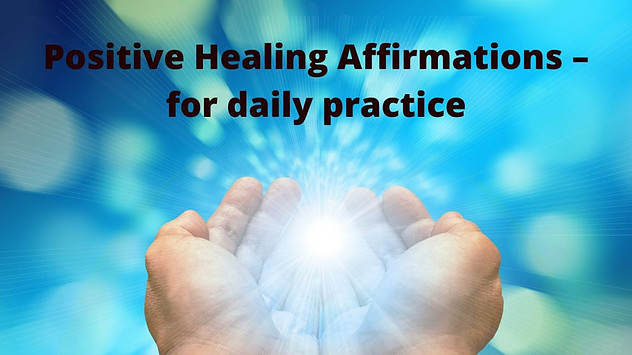 positive healing affirmations