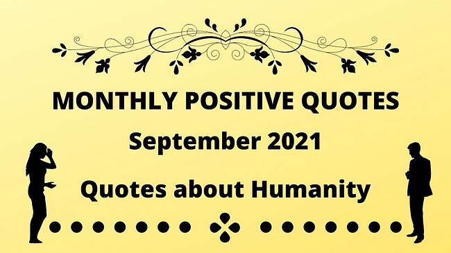 september 2021 quotes